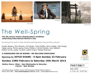 THE WELL SPRING email invite